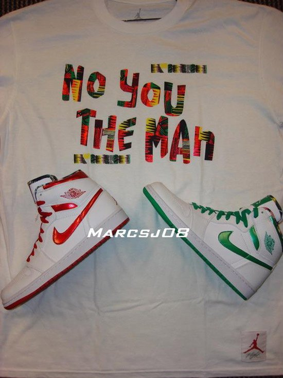 Air Jordan I (1) Retro High - Do The Right Thing Pack