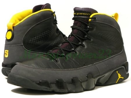 Air Jordan IX (9) Player Exclusive - Marcus Jordan