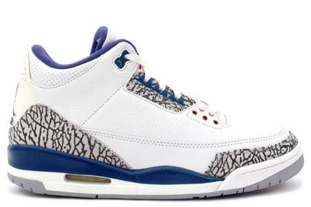 Air Jordan Retro III (3) True Blue Confirmed For August 2009