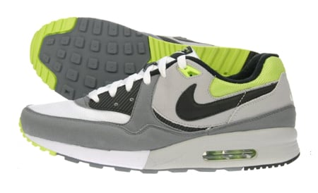 Nike Air Max Light - Grey   Black   White   Neon Green  3aa5e8142939