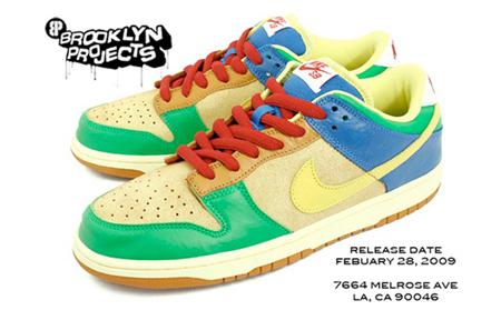 Brooklyn Projects x Nike Dunk Low SB