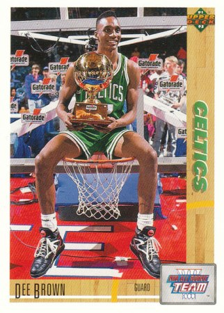 Top Slam Dunk Contest Trendsetters - Dee Brown (#8)