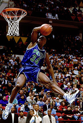Top Slam Dunk Contest Trendsetters - JR Rider (#9)