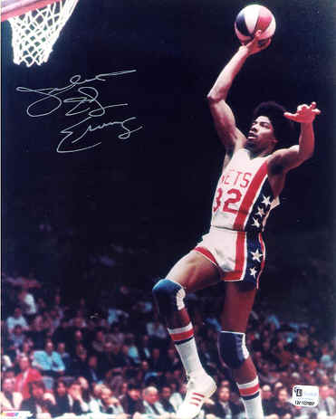 Sprite Slam Dunk Contest Trendsetters - Julius Erving (#1)