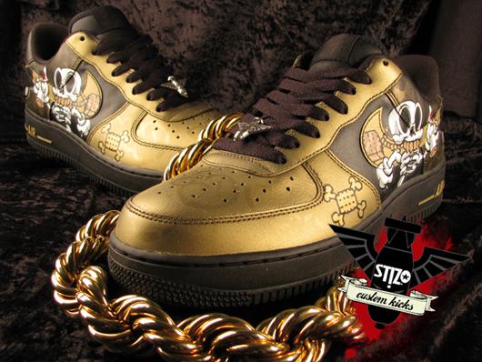 St!zo x Big Money Custom Nike Air Force