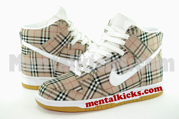 Married to the Mob x Nike Dunk High Scrapped Sample
