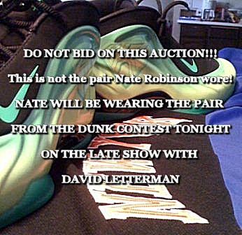 purchase cheap 3df73 88859 nate-robinson-shoes-kryptonate-dunk-contest-sneakers-ebay