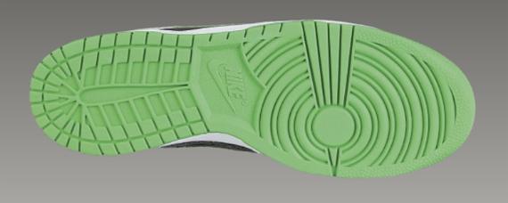 Nike 6.0 Dunk Low - Dark Cinder / Hyper Verde