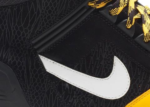 Nike Air Force II (2) High - Black / White - Pro Gold - Gum Yellow
