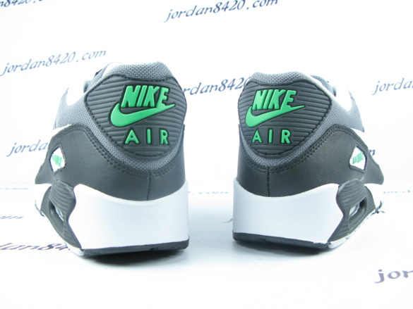 Nike Air Max 90 - Cool Grey / White - Hyper Verde