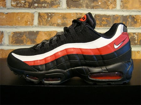 promo code 82ac6 31a43 Nike Air Max 95 - Black / White / Varsity Red | SneakerFiles