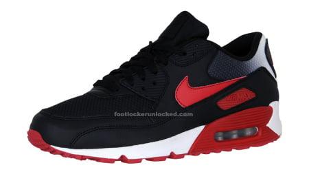 Nike Air Max 90 blk/red