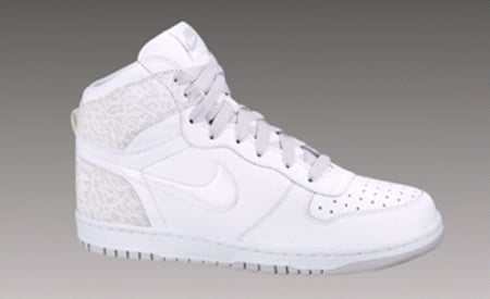 Nike Big Nike High - White/ White-Neutral Grey