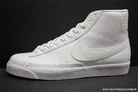 save off 0285f 57fb3 Nike Blazer High - White / White | SneakerFiles