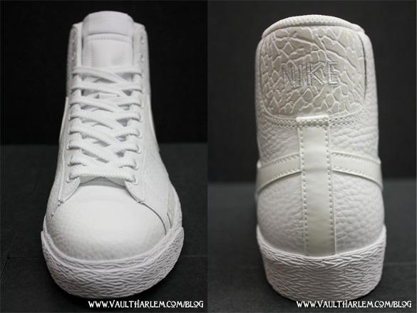 Nike Blazer High - White / White