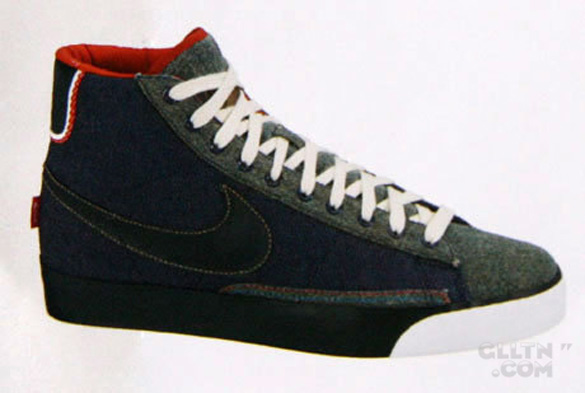 Nike Blazer Mid Premium - Selvage Denim