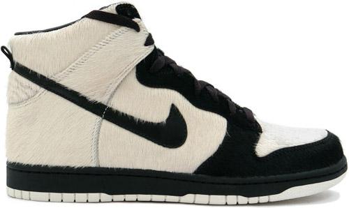 Nike Dunk High Panda White / Black - Sail