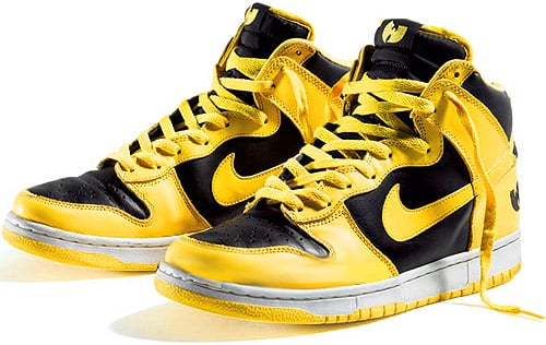 Nike Dunk High Wu Tang Black / Bright Goldenrod / Black