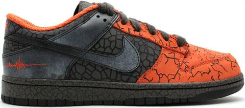 Nike Dunk Low Hufquake Orange Blaze / Black
