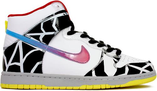 Nike Dunk SB High Thrashin White / Chlorine Blue
