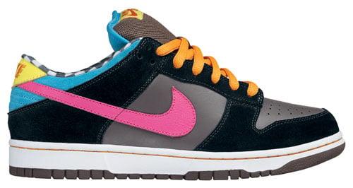 Nike Dunk SB Low 720 Degrees Dark Charcoal / Bright Pink