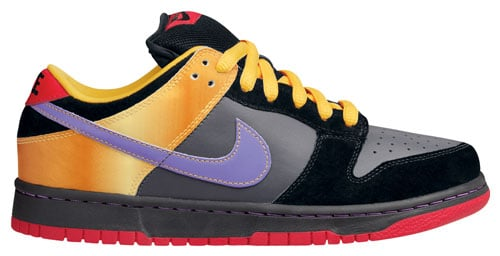 Nike Dunk SB Low Guns N Roses Appetite For Destruction Anthracite / Deep Violet