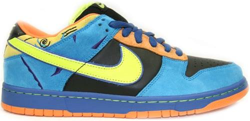 Nike Dunk SB Low Skate or Die Black / Neon Yellow