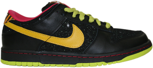 Nike Dunk SB Low Space Tiger Black / Yellow Ochre