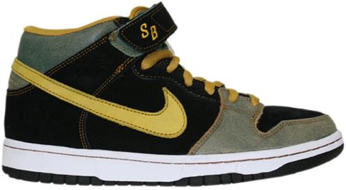 Nike Dunk SB Mid Asbury Casino Metal Island Teal / Mineral Yellow
