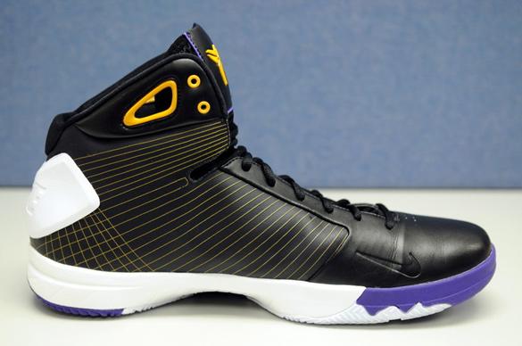 Nike Hyperdunk x Zoom Kobe IV (4) Hybrid - Los Angeles Lakers Away