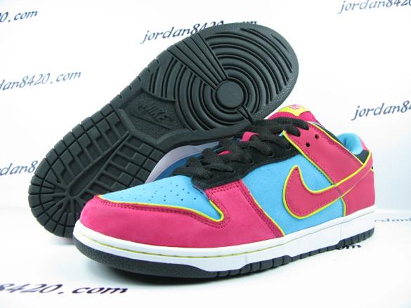Nike SB Dunk Low Premium - Aqua / Pink - Yellow