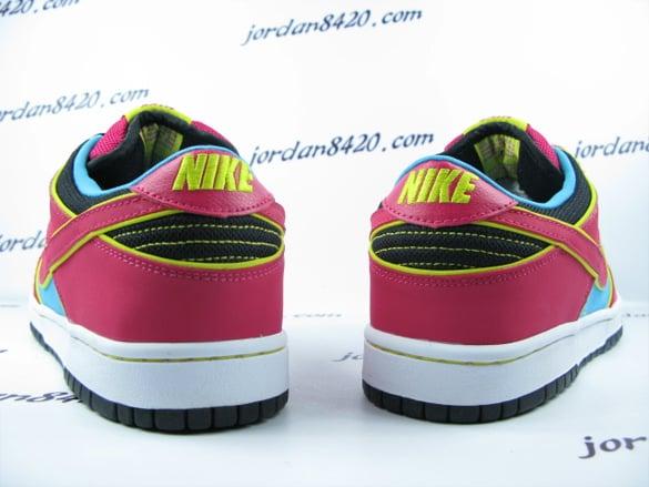 Nike SB Dunk Low Premium - Aqua   Pink - Yellow  cf51ce998