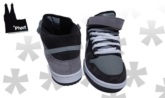 Nike SB Dunk Mid Premium - TV | Cappuccino / Silver