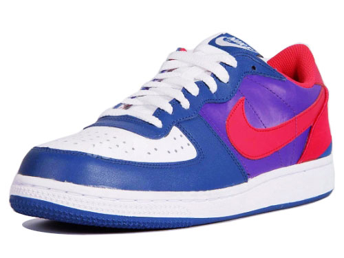 Nike Terminator Low - Purple / White / Navy / Red