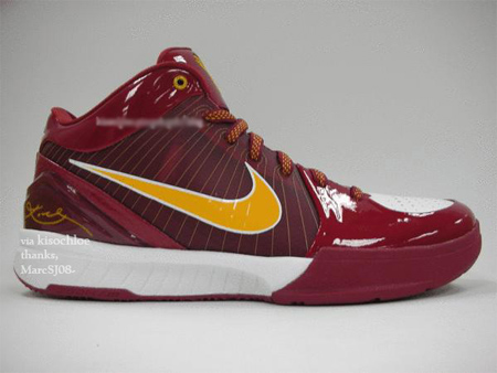 newest ca5c8 af70a Nike Zoom Kobe IV (4) - USC Player Exclusive (PE)