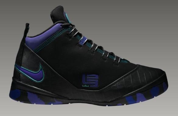 reputable site eaa14 f88ee Nike Zoom Soldier II (2) Summit Lake Hornets - Black ...