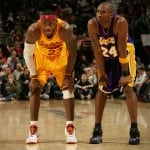 On Court: Kobe Bryant VS. Lebron James