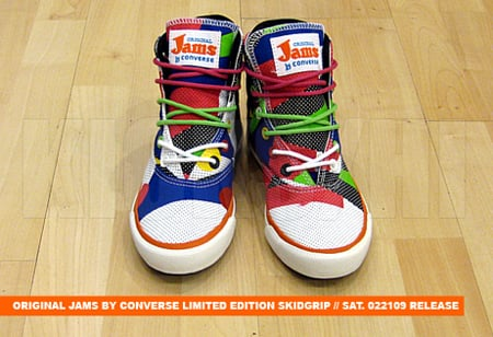 Original Jams by Converse - Limited Edition Skidgrip