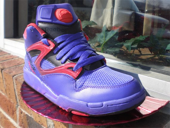 Reebok Pump Omni Lite - Purple / Red / Black