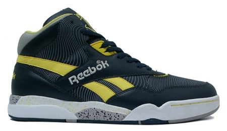 Reebok Reverse Jam Mid Navy/Yellow/Grey