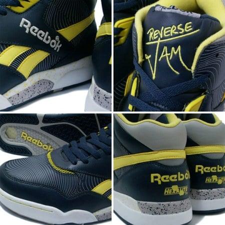 Reebok Reverse Jam Mid Navy/Yellow/Grey