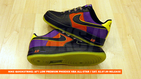 Release Reminder: Nike Air Force 1 Quickstrike - All-Star Game '09