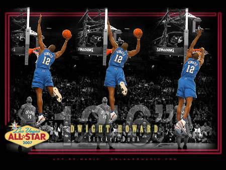 Sprite Slam Dunk Contest Trendsetters - Dwight Howard (#6)