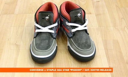 Staple x Converse Sea Star - Pigeon | Releasing This Saturday