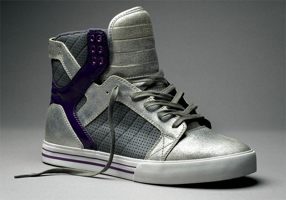 Supra Skytop - Silver / Purple