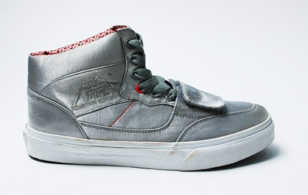 Vans Silver Satin Half-Cab & Mountain Edition High