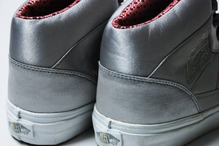 Vans Silver Satin Half-Cab & Mountain Edition High