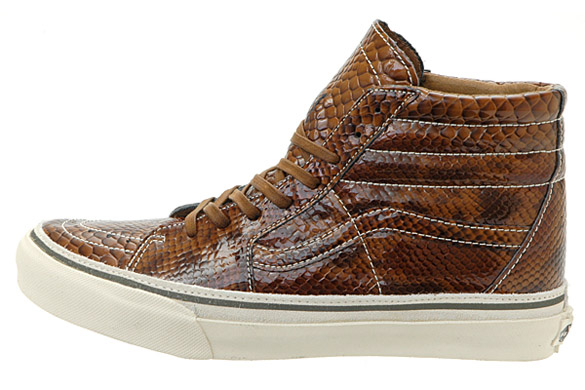 Vans Leather Snakeskin Pack