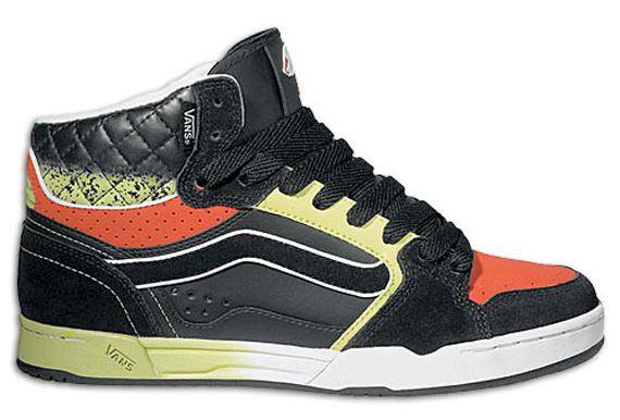 Vans Owen High -  Black / Green / OJ Fader
