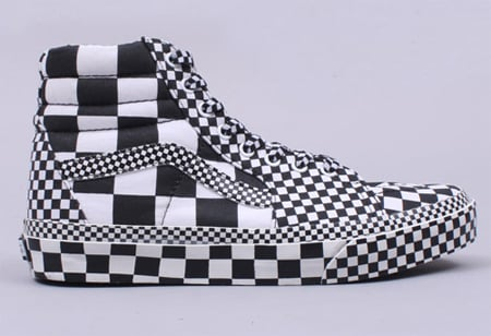 Vans Sk8 High - All Over Check